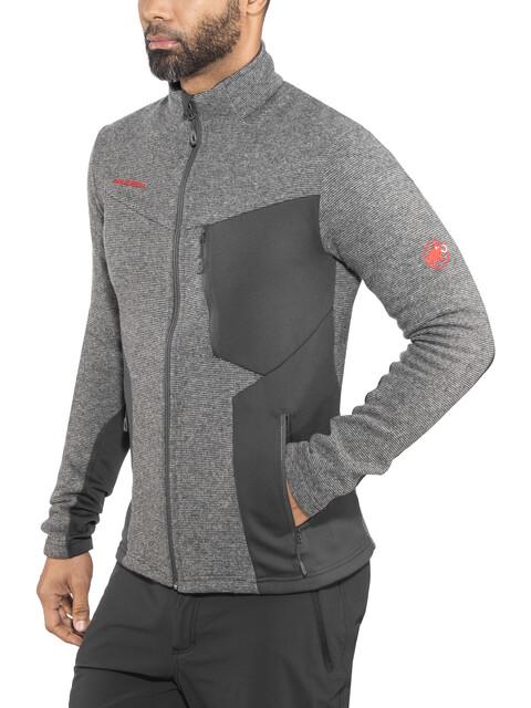 Mammut M's Stoney ML Wool Jacket phantom-titanium melange